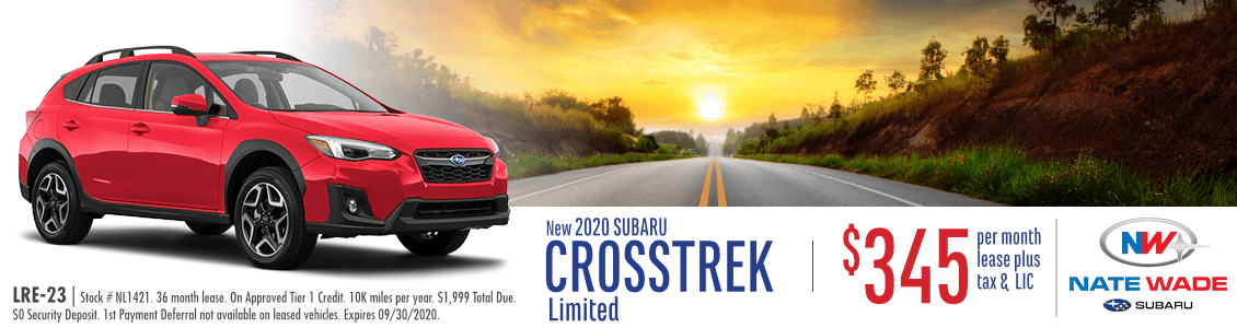 2020 Crosstrek Limited Lease Special in Salt Lake City, UT