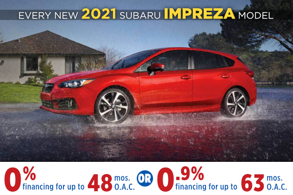 New 2021 Subaru Impreza Finance Specials Salt Lake City, Utah