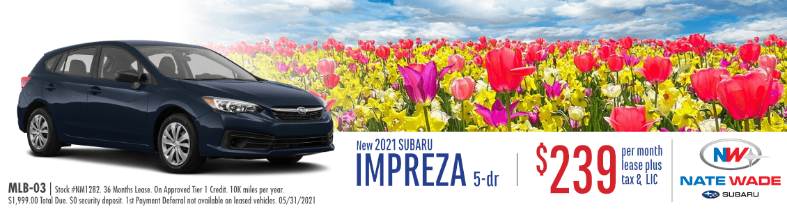 2021 Impreza Base Trim Level 5dr Lease Special in Salt Lake City, UT