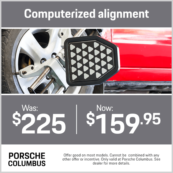 Computerized Alignment Service Special at Byers Porsche in Columbus, OH