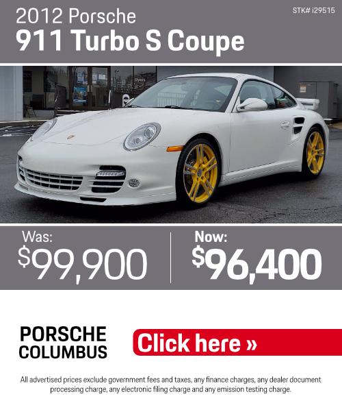 Columbus, OH Porsche Dealer - Used Car Specials
