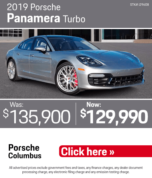 2019 Porsche Panamera Turbo Pre-Owned Special in Columbus, OH