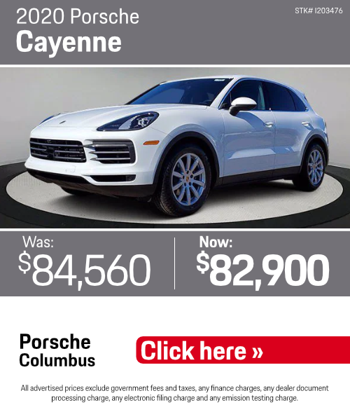 2020 Porsche Cayenne Pre-Owned Special in Columbus, OH