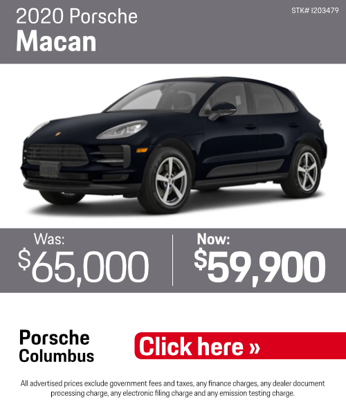 2020 Porsche Macan Pre-Owned Special in Columbus, OH