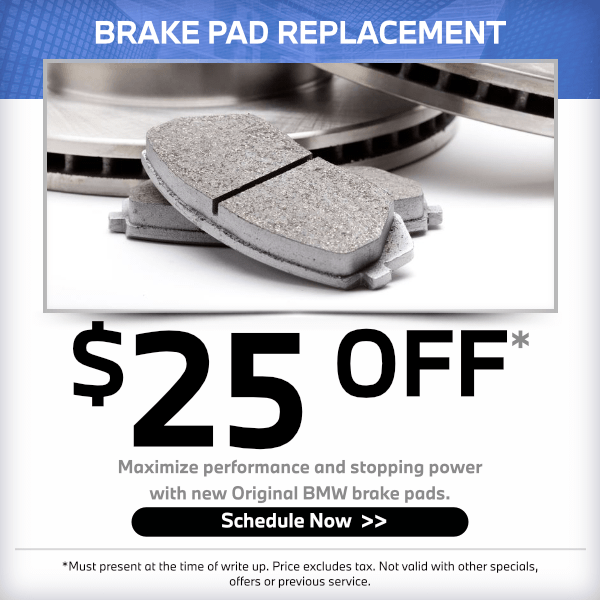 Brake pad replacement - 25% OFF