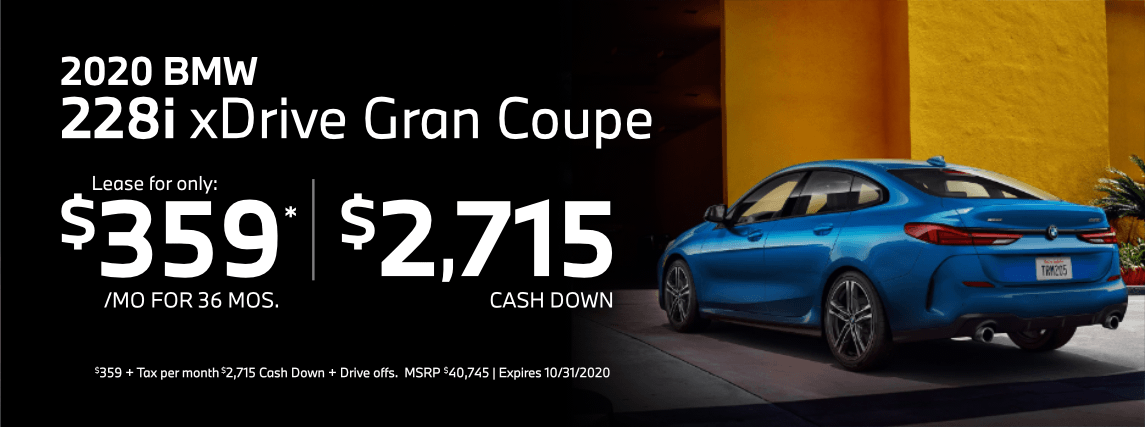 2020 BMW 2 Series Special Lease Savings in Torrance, CA