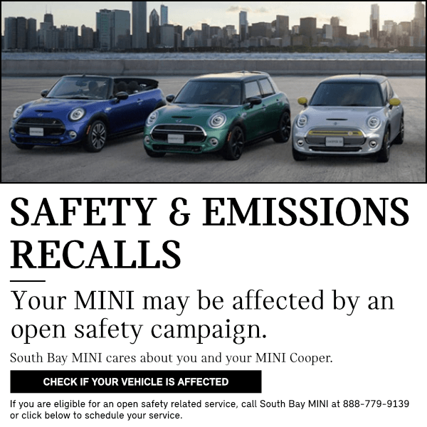 Safety and Emissions Recalls