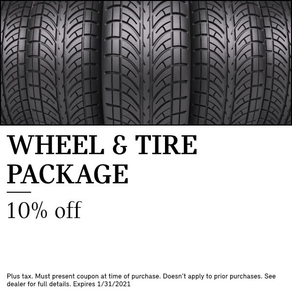 10% discount on Wheel & Tire package at South Bay Mini