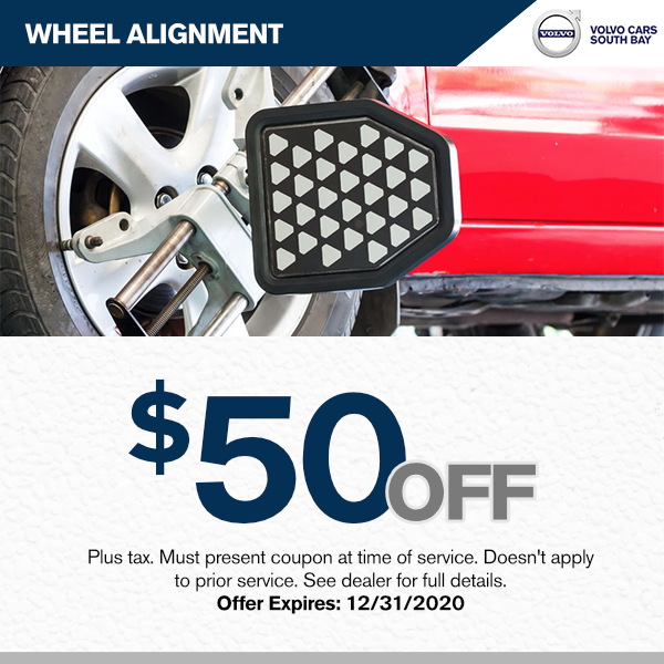 Save$50.00 off wheel alignment