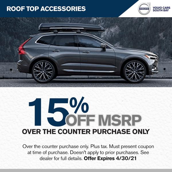 15% off MSRP - roof top accessoriesparts specials in Torrance, CA