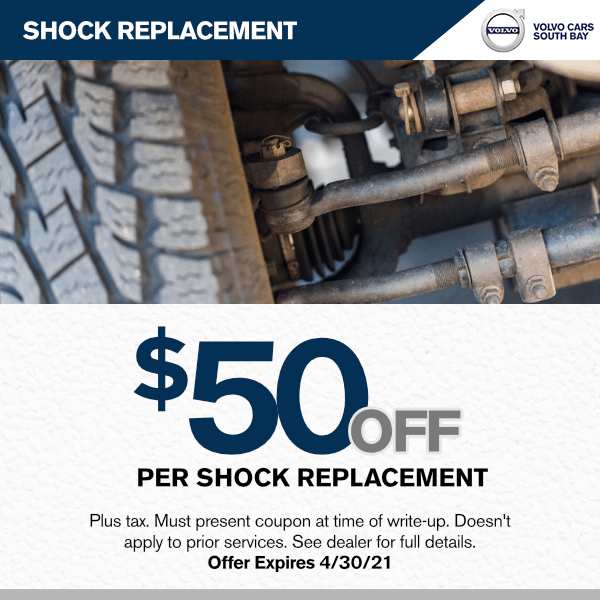 Shock replacement$50.00off per shock replacement