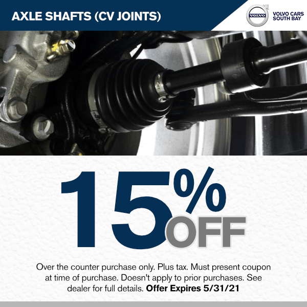 15% off Axle Shafts (CV Joints)parts specials in Torrance, CA