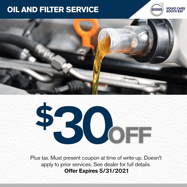 $30.00 off oil and filter service