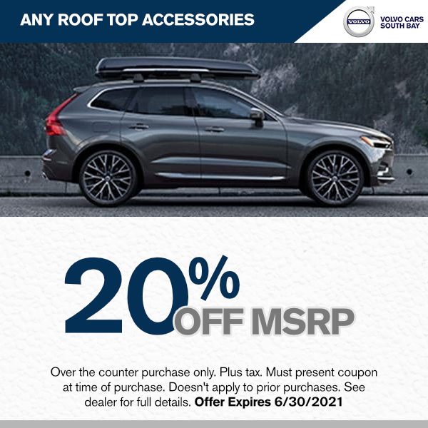 Any roof top accessories 20% off MSRP