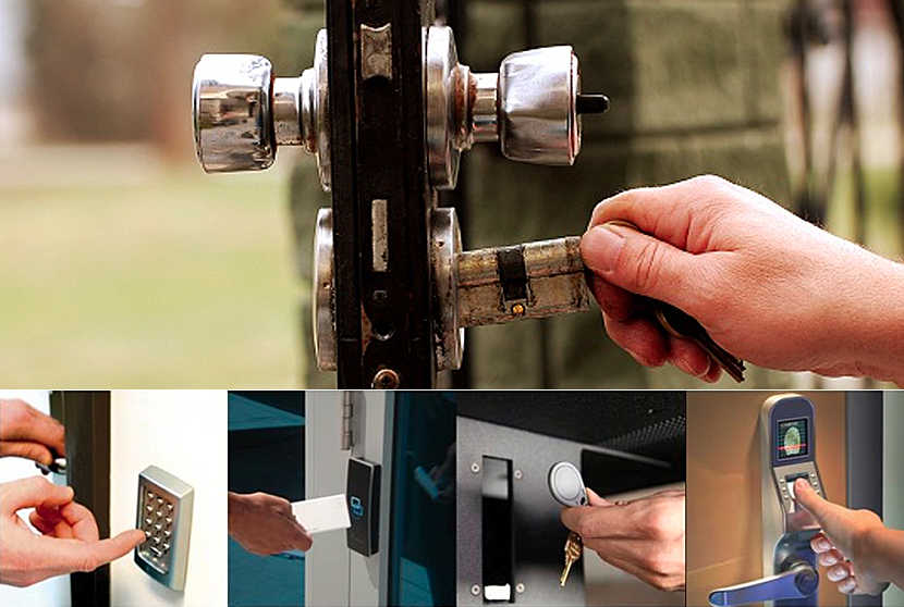 Compare New Electronic vs Traditional Locks at Advanced Lock & Security