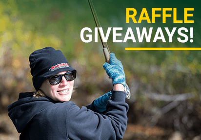 Raffle giveaways!