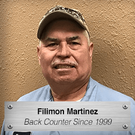 Fillimon Martinez - Back Counter