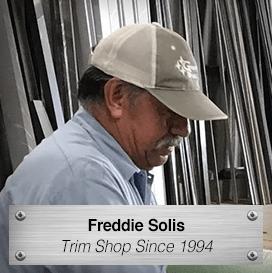 Freddie Solis - Trim Shop