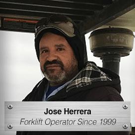Jose Herrera - Forklift Operator