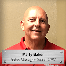 Marty Baker - Sales Manager