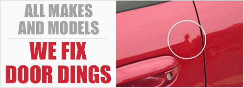 We Fix Door Dings with No Price at Eddy's Body Shop in Wichita, Kansas