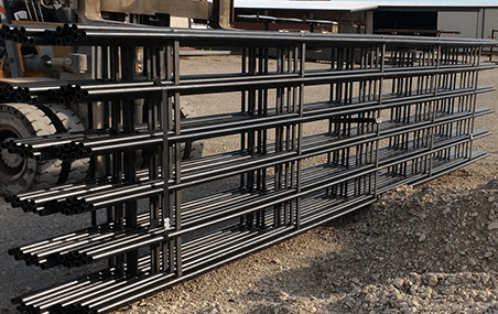 Browse our steel fencing products at Greenville Steel