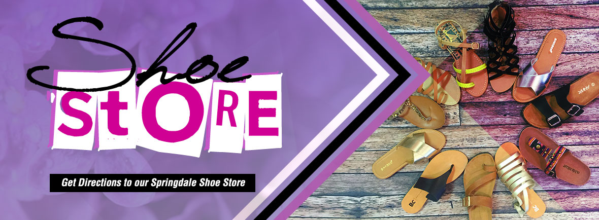 View Great Shoes & Styles Serving Springdale and Fayetteville