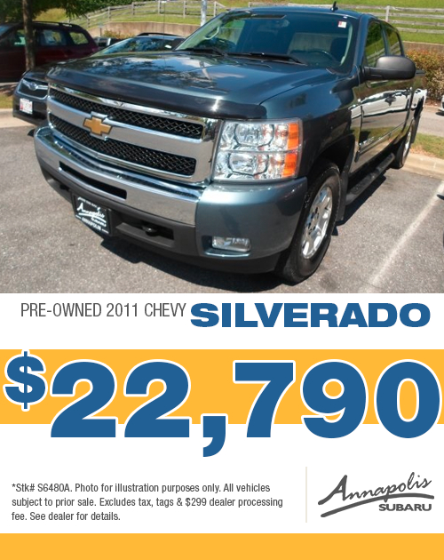 Save on a quality pre-owned 2011 Chevy Silverado in Anne Arundel County, MD