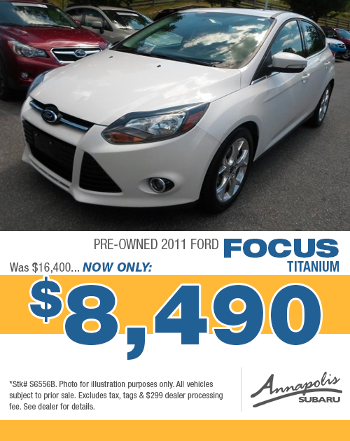 Save on a quality pre-owned 2011 Ford Focus in Anne Arundel County, MD