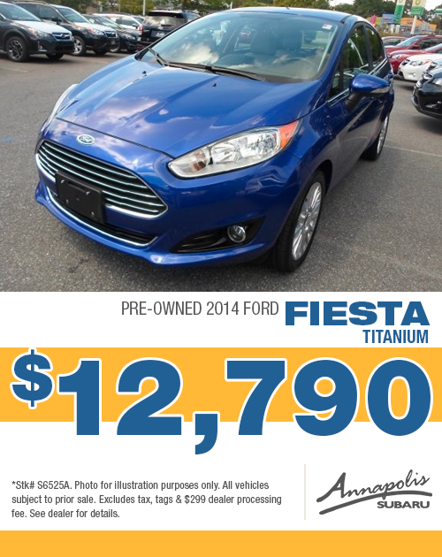 Save on a quality pre-owned 2014 Ford Fiesta Titanium in Anne Arundel County, MD