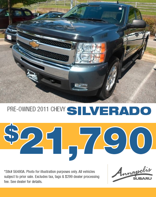 2011 Chevy Silverado Pre-Owned Special in Annapolis, MD