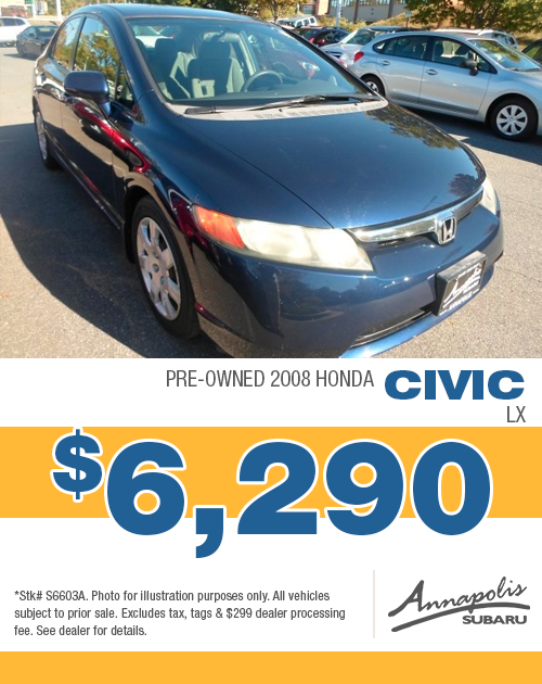 2008 Honda Civic LX Pre-Owned Special in Annapolis, MD