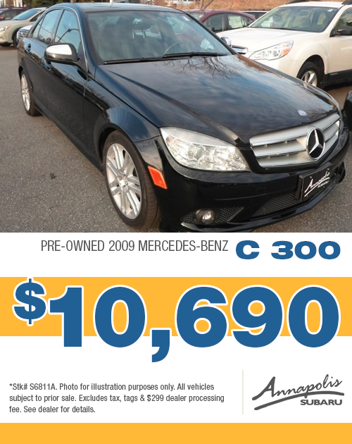 2009 Mercedes C300 Pre-Owned Special in Annapolis, MD