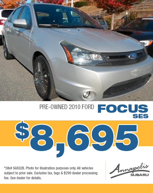 2010 Ford Focus SES Pre-Owned Special in Annapolis, MD