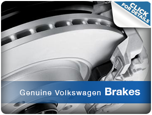 Click For More Information About Genuine Volkswagen Brakes Houston, TX