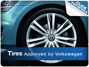Click For More Information About Genuine Volkswagen Approved Tires Houston, TX