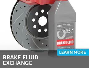 Click to learn more about our brake fluid exchange service in Houston, TX