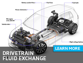 Click For Volkswagen DriveTrain Fluid Exchange Repair Details in Houston, TX