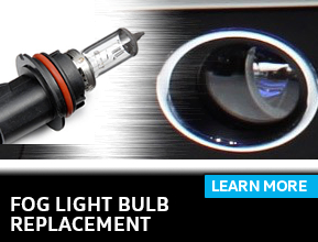 Click to learn more about our fog light bulb replacement service in Houston, TX