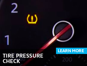Click to learn more about our tire pressure check service in Houston, TX
