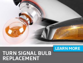 Click to learn more about our turn signal bulb replacement service in Houston, TX