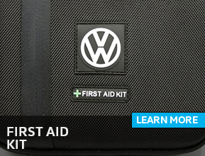Click to view our first aid kit information at Archer Volkswagen in Houston, TX