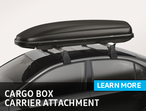 Click to view our cargo box carrier attachment parts information at Archer Volkswagen in Houston, TX