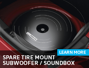 Click to view our Spare Tire Mount Subwoofer / Soundbox parts information at Archer Volkswagen in Houston, TX