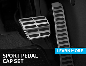 Click to view our Sport Pedal Cap Set parts information at Archer Volkswagen in Houston, TX