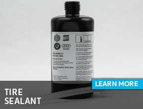 Click to view our genuine tire sealant parts information at Archer Volkswagen in Houston, TX