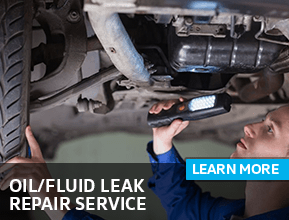 Browse our oil or fluid leak repair information at Archer Volkswagen in Houston, TX