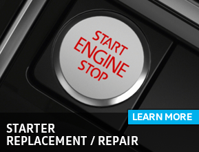 Click to view our Volkswagen Starter Replacement/Repair Service Information in Houston, TX
