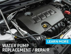 Click to view our Volkswagen Water Pump Replacement Service Information in Houston, TX