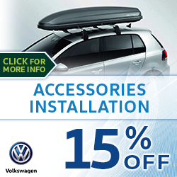 Click to save with our Volkswagen Accessories Installation Service Special in Houston, TX